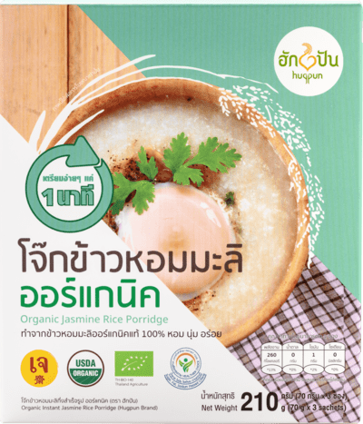Instant Organic Jasmine Rice Porridge