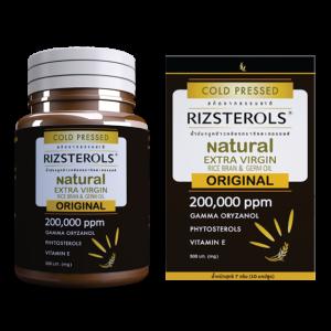 RIZSTEROLS EXTRA VIRGIN RICE BRAN & GERM OIL 500 mg capsule